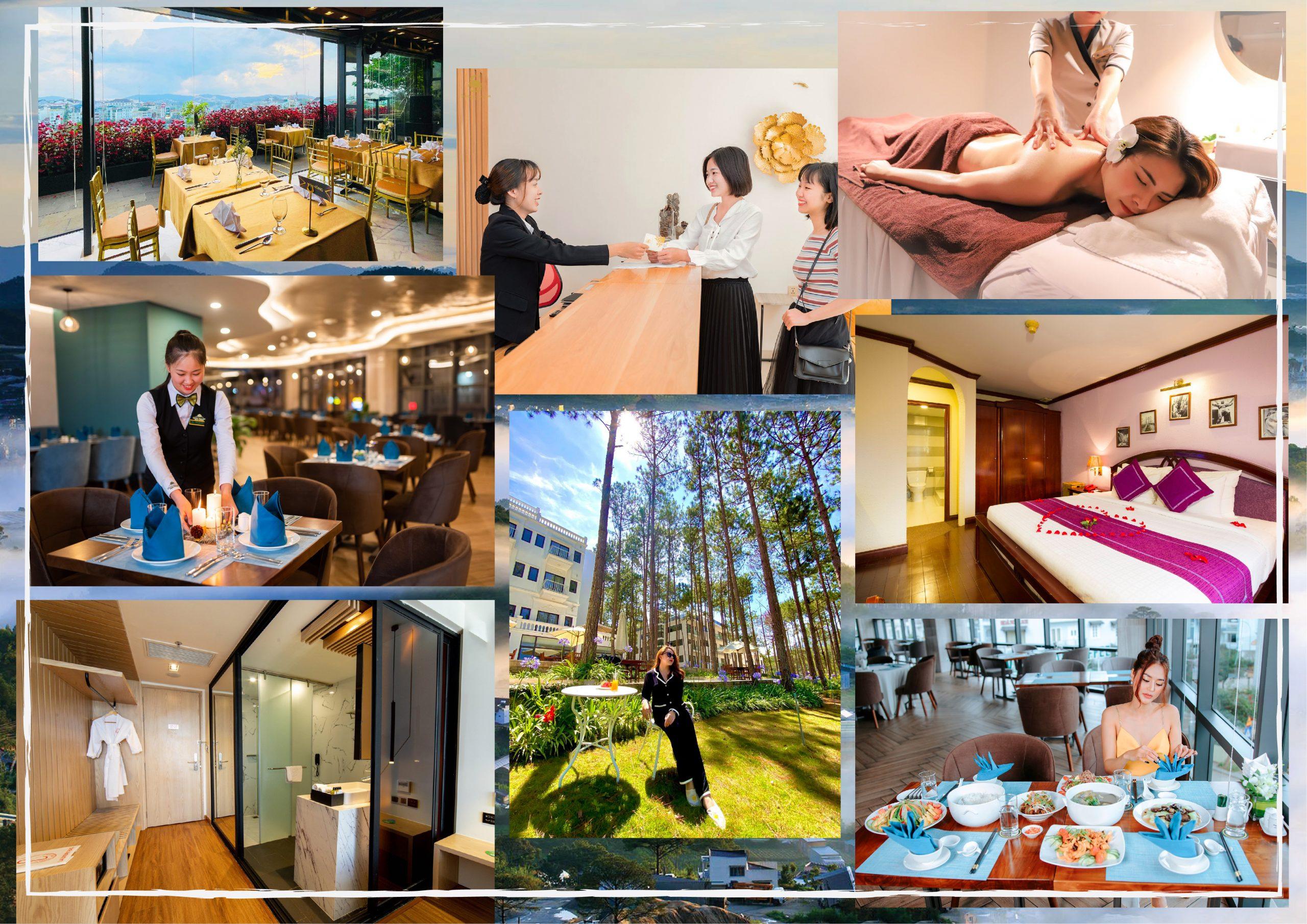 Các trải nghiệm tuyệt vời tại các villa Đà Lạt cho thuê nguyên căn tiêu chuẩn 4 sao trong các khu resort Đà Lạt