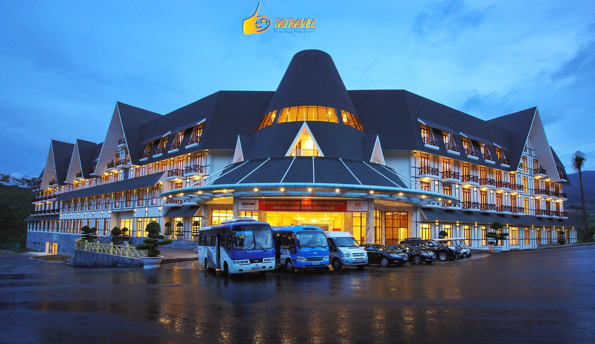 Khách sạn Swiss Belresort Tuyền Lâm Đà LạtReview khách sạn Swiss Belresort Tuyền Lâm Đà Lạt